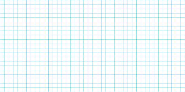 grid square graph line full page on white paper background, paper grid square graph line texture of note book blank, blue grid line on paper white color, empty squared grid graph for architecture grid square graph line full page on white paper background, paper grid square graph line texture of note book blank, blue grid line on paper white color, empty squared grid graph for architecture school background stock illustrations