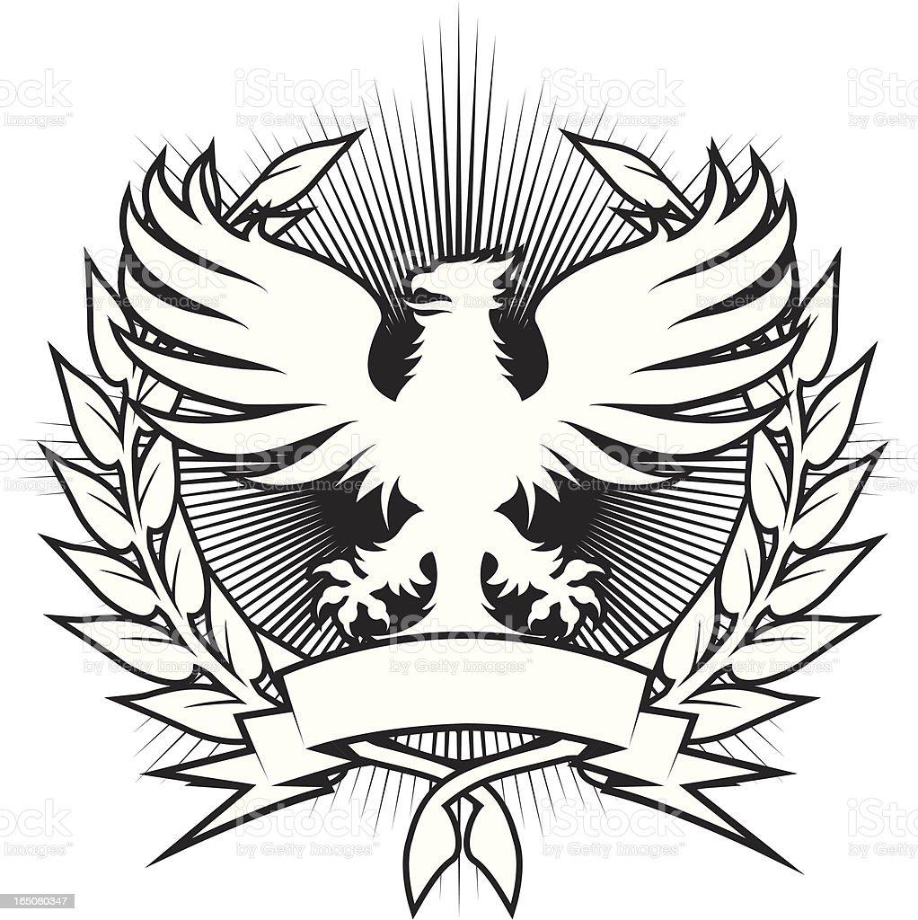 griffin emblem royalty-free stock vector art