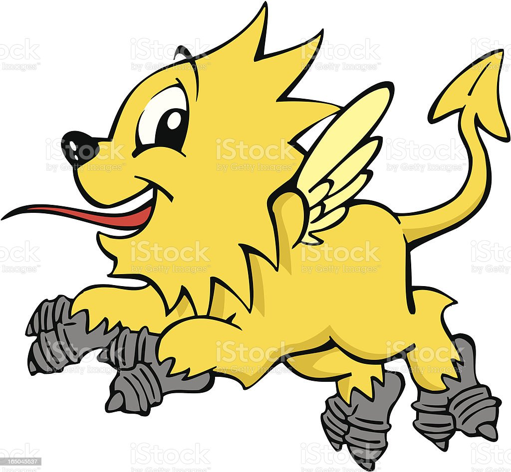 Griffin the Mythological Creature royalty-free stock vector art