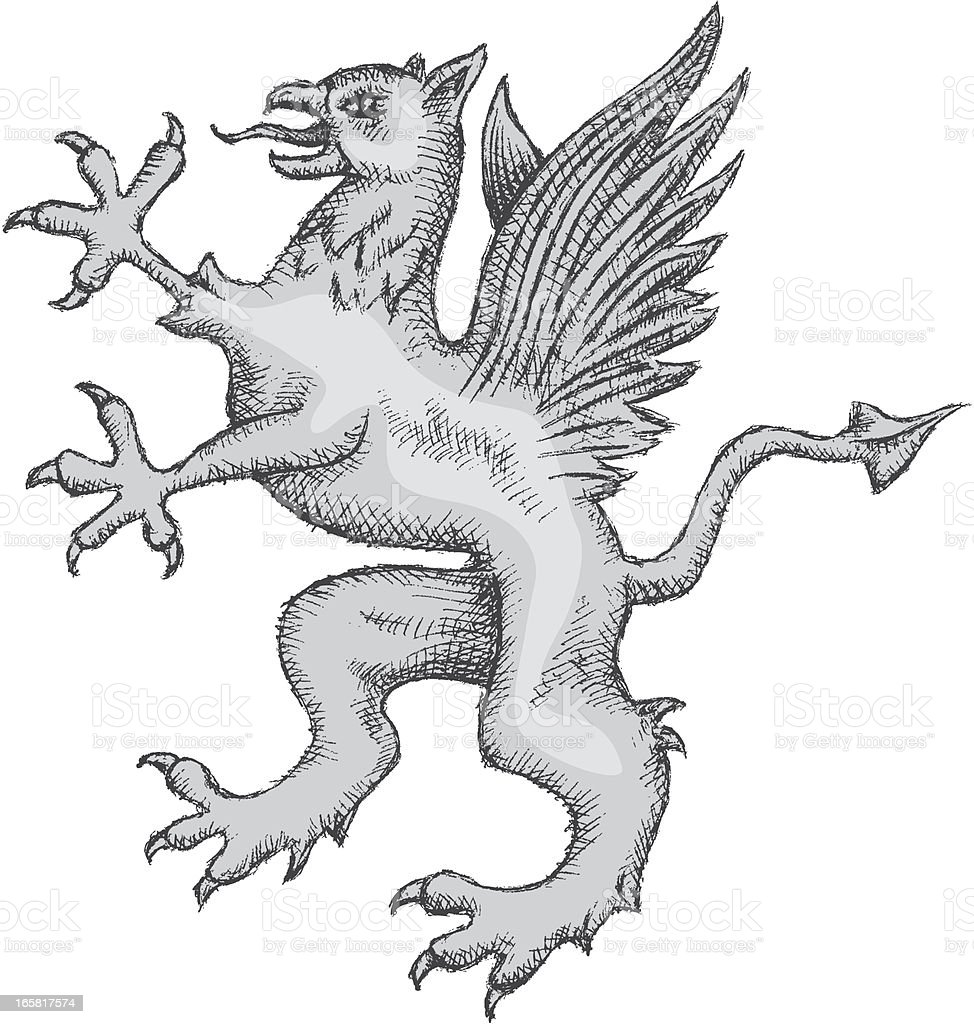 Griffin royalty-free griffin stock vector art & more images of animal