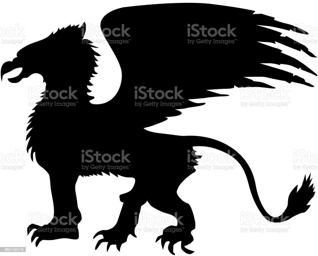 Griffin royaltyfri griffin-vektorgrafik och fler bilder på abstrakt