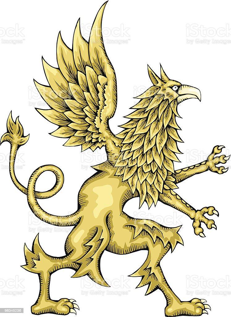 Griffin griffin - immagini vettoriali stock e altre immagini di ala di animale royalty-free