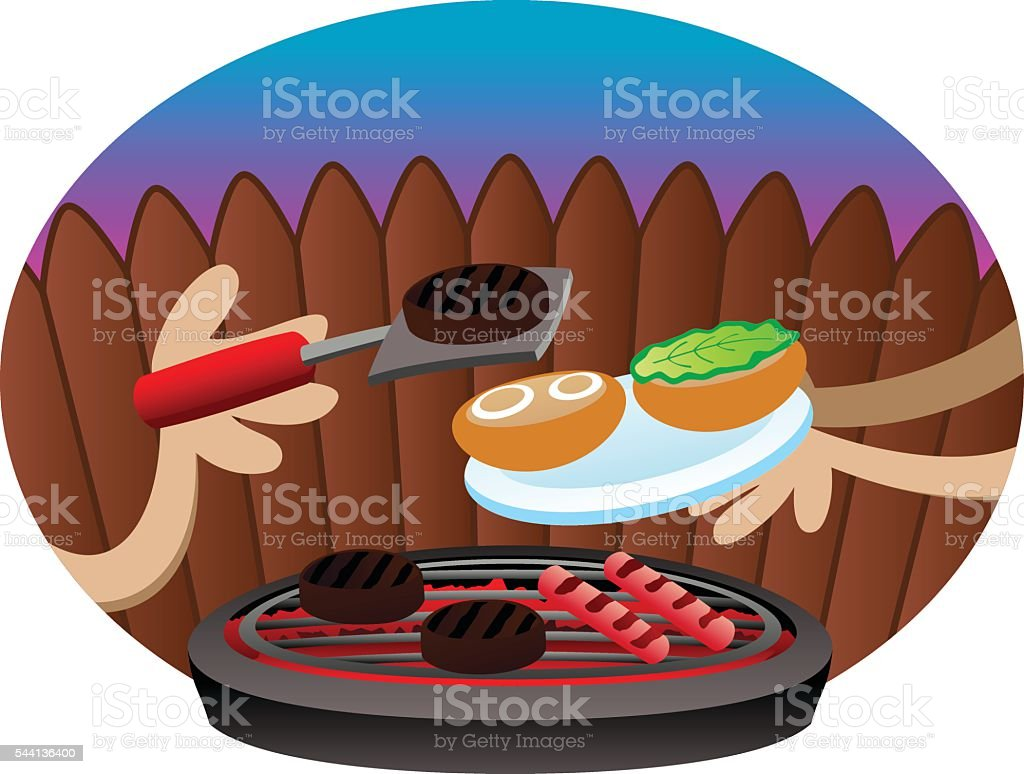 Grill royalty-free grill stock vector art & more images of assistance