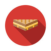Grilled Cheese Sandwich Icon