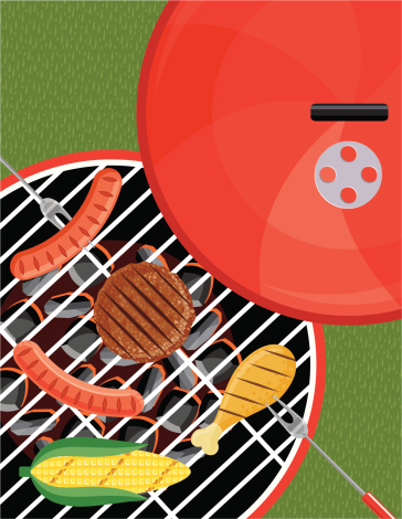 Grilling on the BBQ