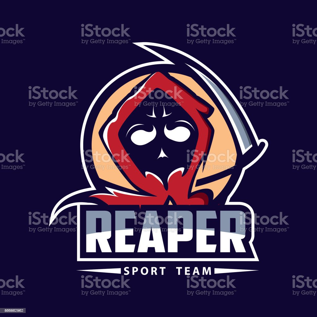 grim reaper design template stock vector art more images of art