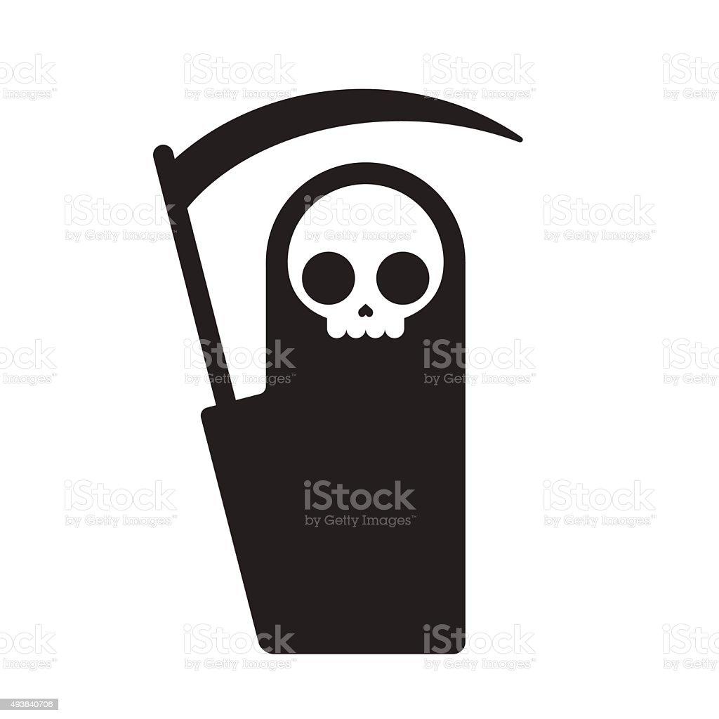 grim reaper illustration vector art illustration