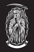 Grim Reaper Vector Art