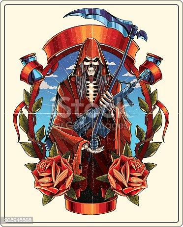 istock Grim Reaper 905945568