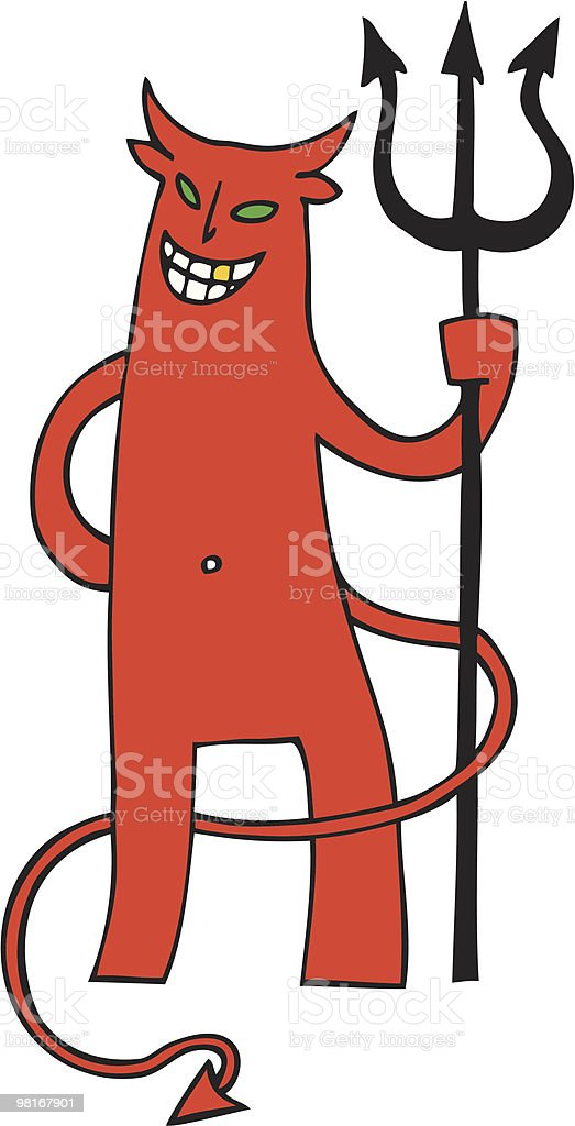 Grinning Devil royalty-free grinning devil stock vector art & more images of cartoon