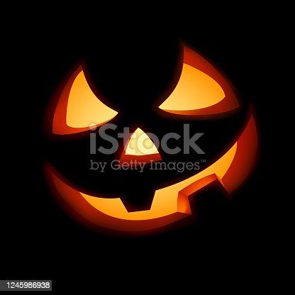 istock A grinning Jack O Lantern. 1245986938