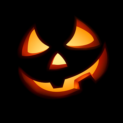 A grinning Jack O Lantern. EPS 8 vector file included