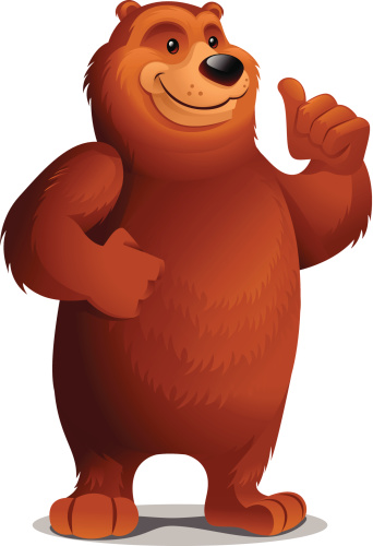 Grizzly Bear: Thumbs Up