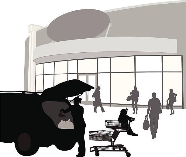 GroceryRun - Illustration vectorielle