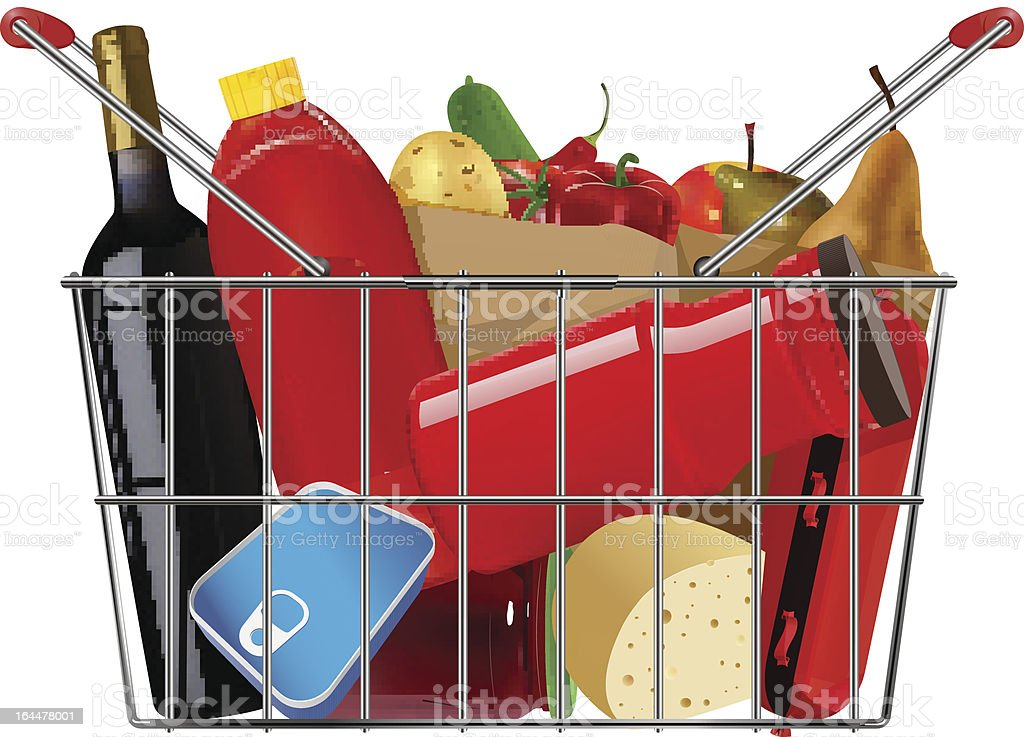 grocery royalty-free grocery stock vector art & more images of apple - fruit