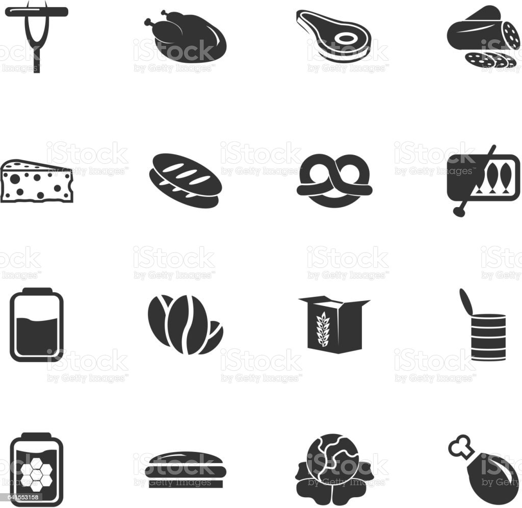 grocery_store_icon_3 vector art illustration