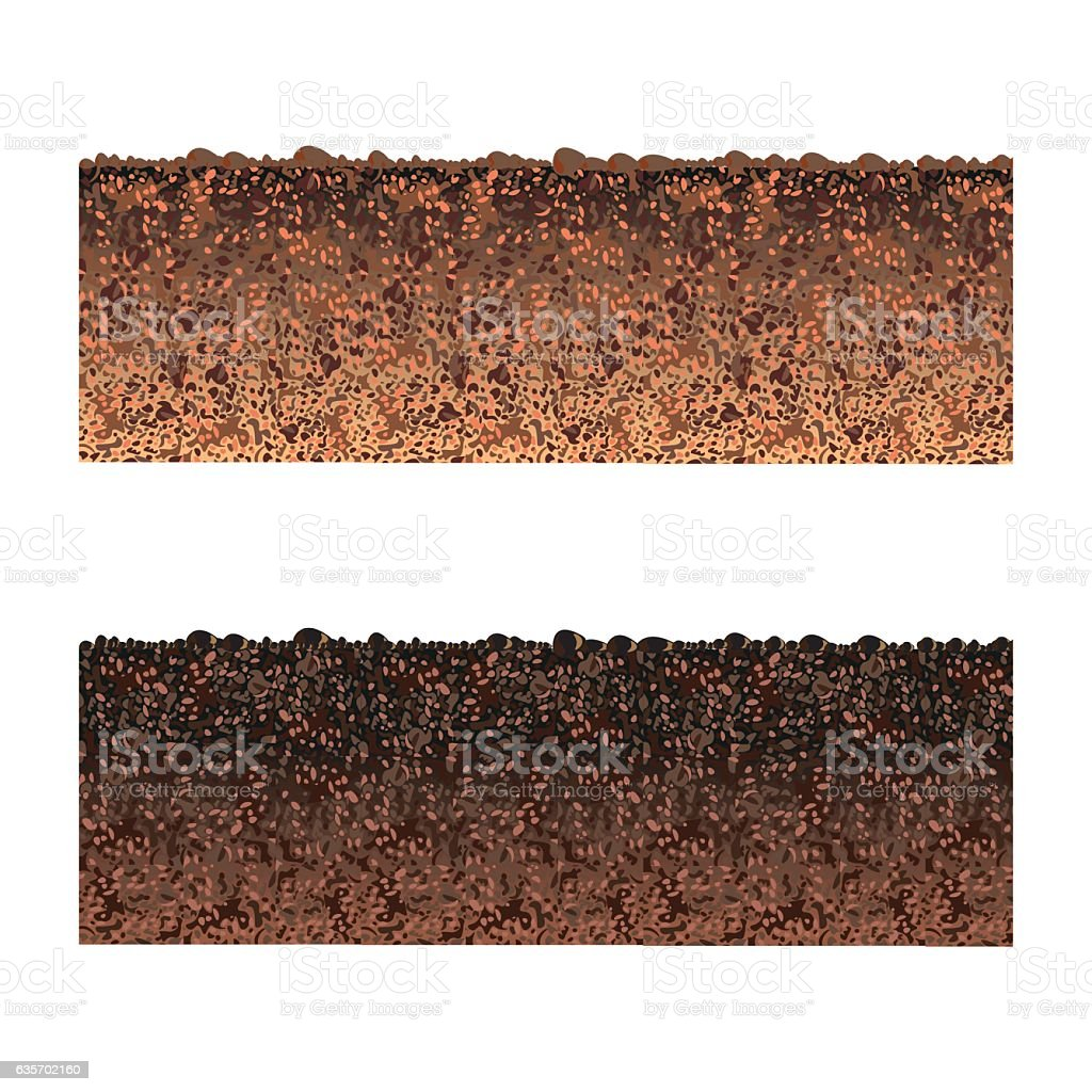 Ground cutaway royalty-free ground cutaway stock vector art & more images of backdrop