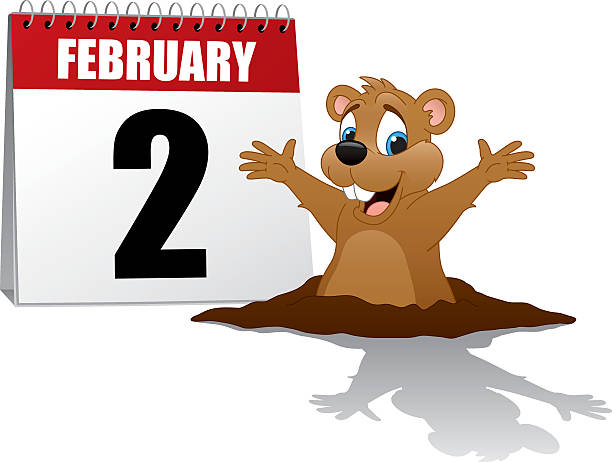 Best Groundhog Day Illustrations, Royalty-Free Vector