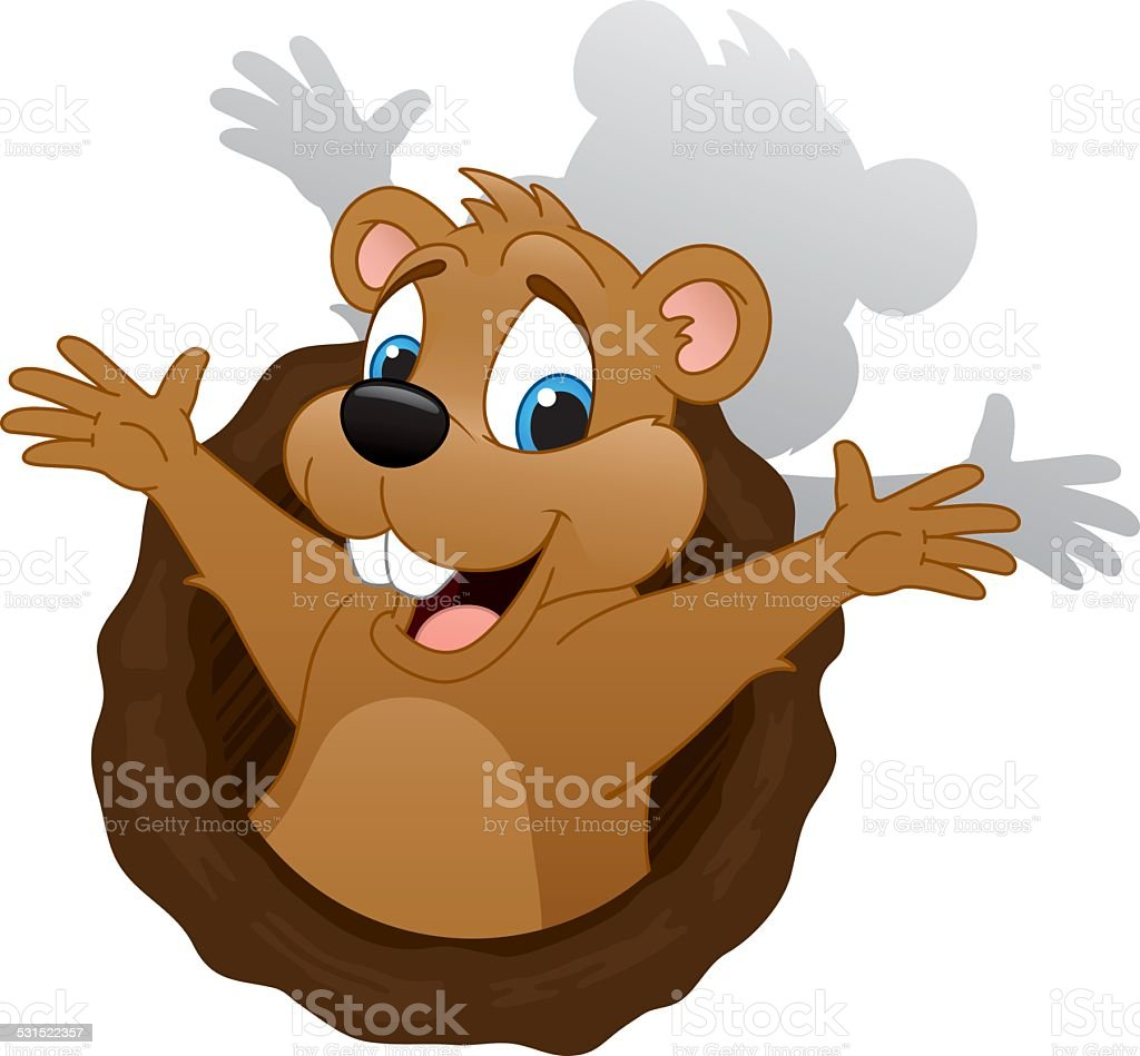 Groundhog Day Stock Vector Art & More Images of 2015 ...