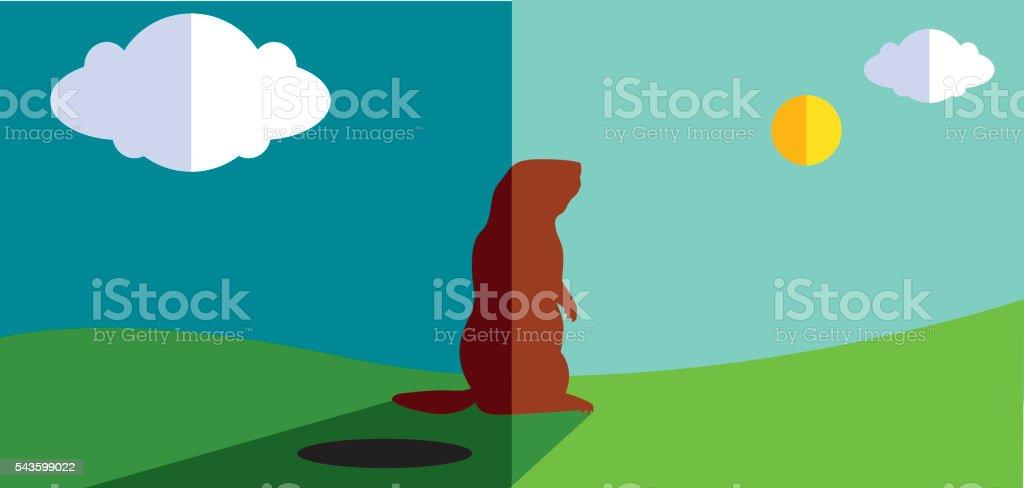 royalty free woodchuck clip art vector images illustrations istock rh istockphoto com Groundhog Clip Art Groundhog Clip Art