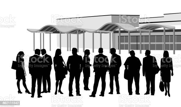 Group Business Convention Meeting Stock Illustration - Download Image Now