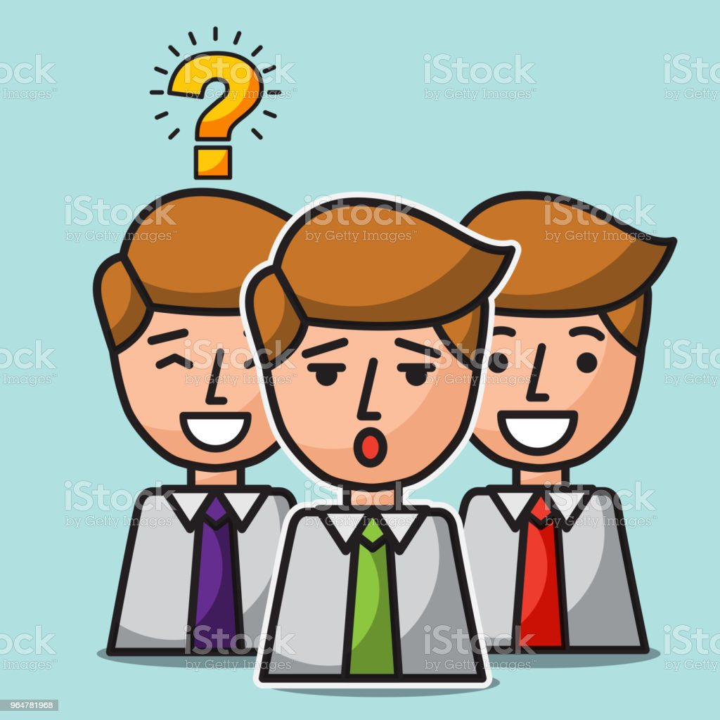 group businessman portrait team successful royalty-free group businessman portrait team successful stock vector art & more images of adult