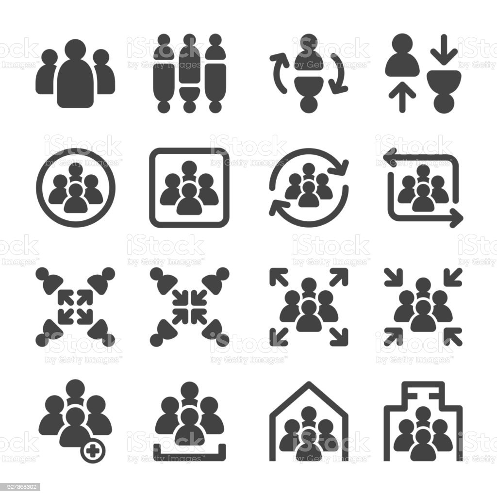group icon - Royalty-free Adult stock vector