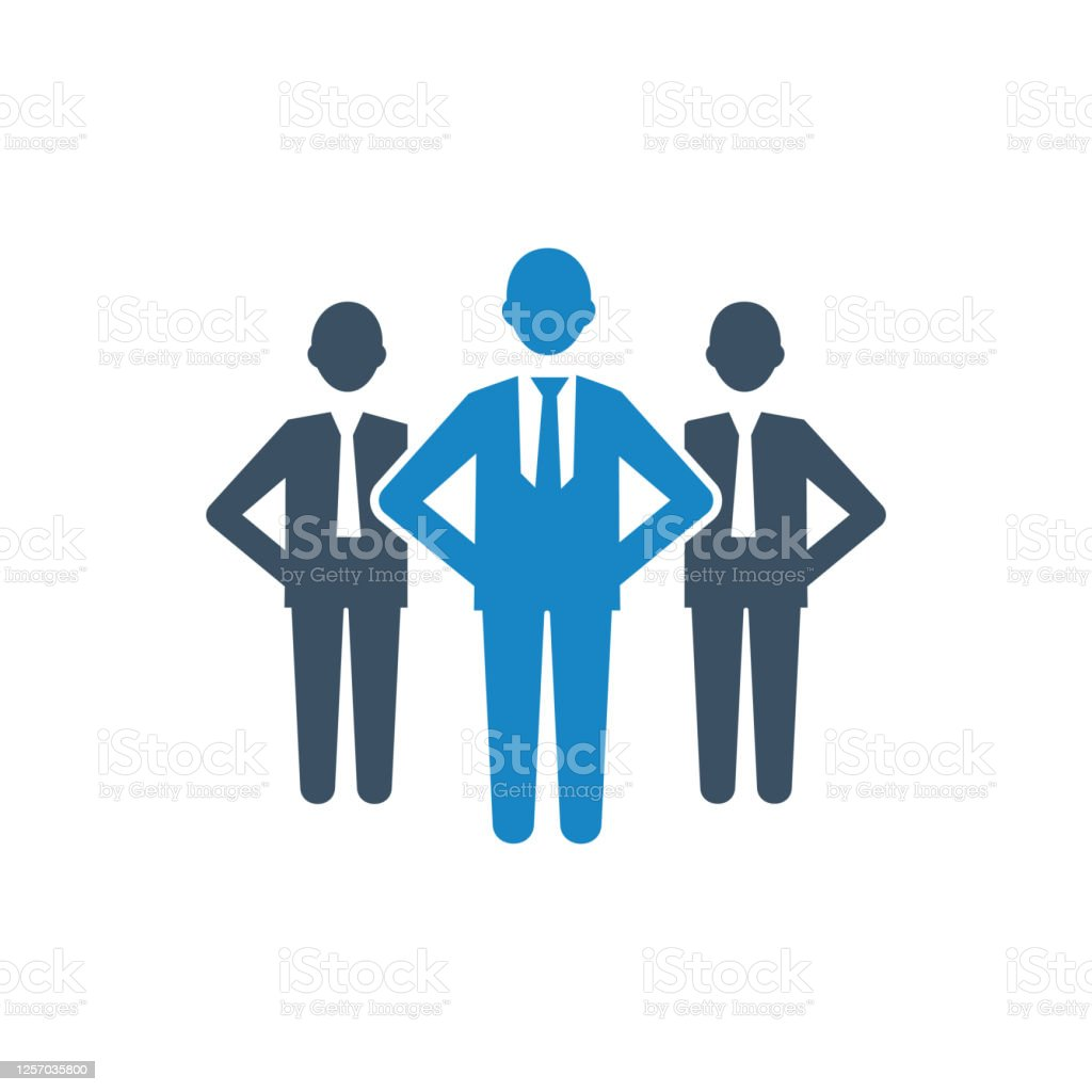 Group Leader Icon Stock Illustration Download Image Now Istock