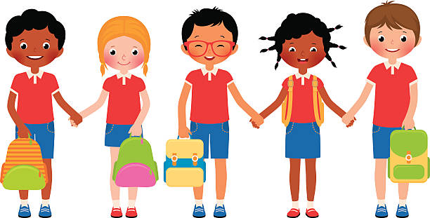 Elementary Student Clip Art, Vector Images & Illustrations ...