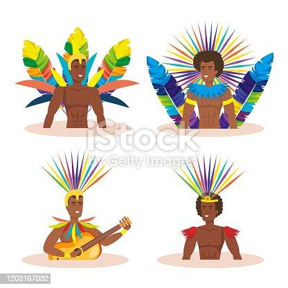 istock group of exotic dancers men brazil 1203167032