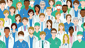 istock Group of health care workers. 1315985715