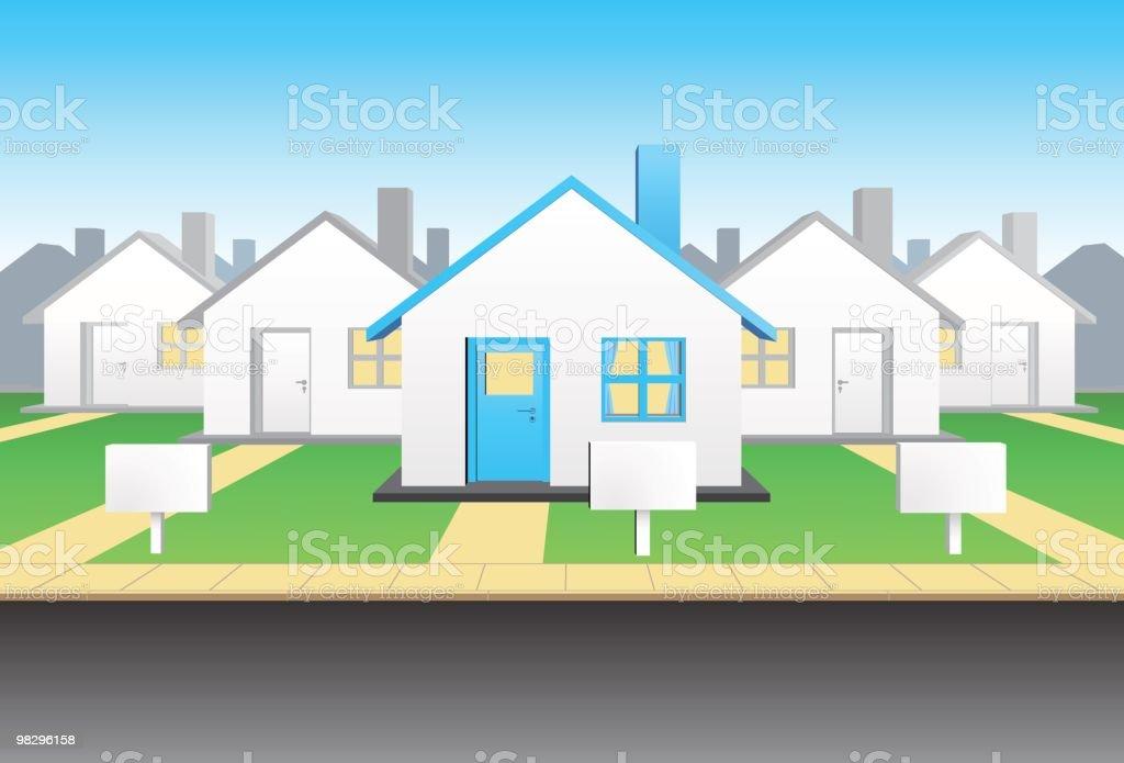 그룹 주택 royalty-free 그룹 주택 0명에 대한 스톡 벡터 아트 및 기타 이미지