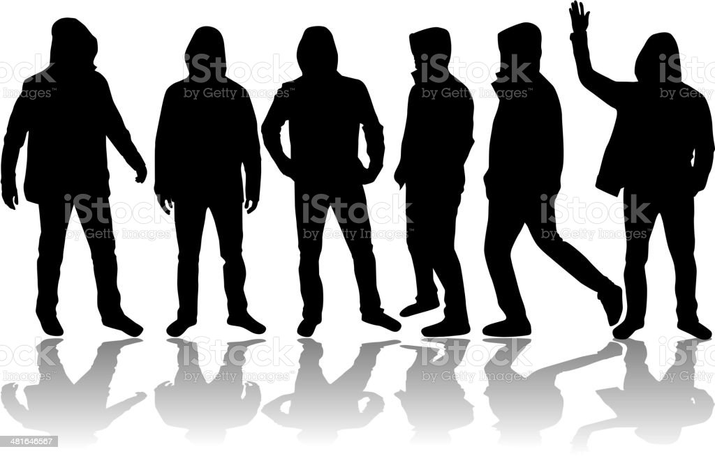 group of men royalty-free group of men stock vector art & more images of adult