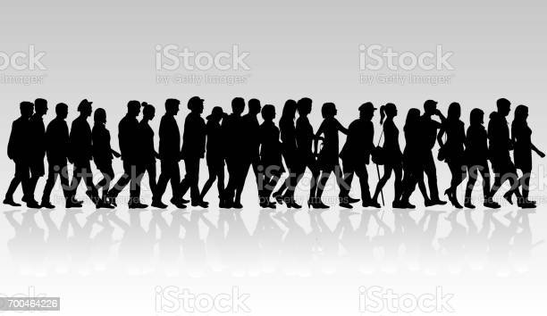 Group of people crowd of people silhouettes vector id700464226?b=1&k=6&m=700464226&s=612x612&h=kdusknnpyrczrfujqwdh7couxcseqap6ees9qqediza=