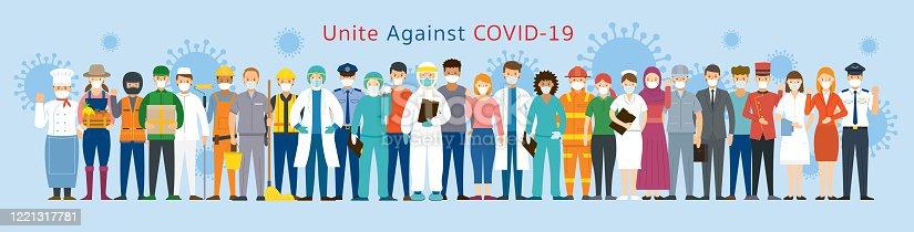 United to Prevent Covid-19, Coronavirus Disease