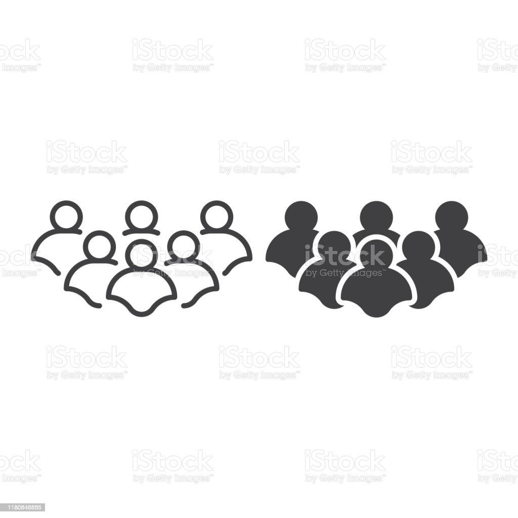Vetores De Grupo De Pessoas Trabalho Em Equipe Comunidade Organização Molde Do ícone Do Vetor E Mais Imagens De Adulto Istock