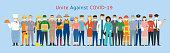 Prevention, Unite against Covid-19, Coronavirus Disease