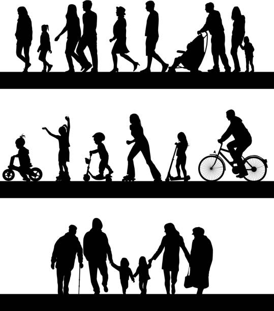 group of people. - wheelchair sports stock illustrations, clip art, cartoons, & icons