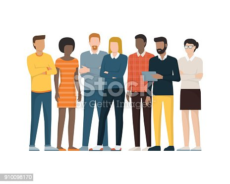 istock Group of people 910098170
