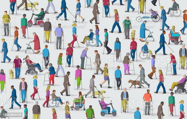 Group of people with disabilities vector id1094883428?b=1&k=6&m=1094883428&s=612x612&h=bqj e4lqss8cfxw920rs64xrzl9uohpwjfv uss n m=