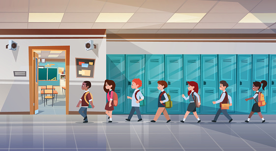 School stock illustrations