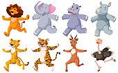istock Group of running animals 1268726917