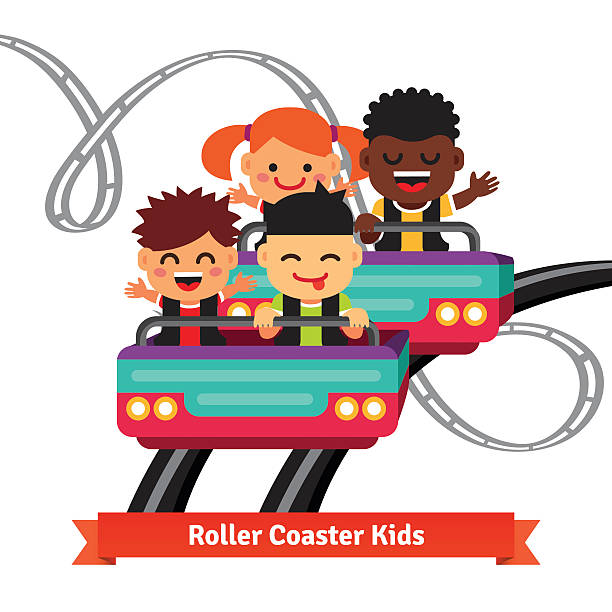 Royalty Free Roller Coaster Car Clip Art, Vector Images ...