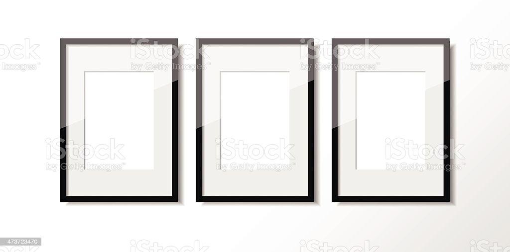 Fantastisch Three Picture Frames Zeitgenössisch - Rahmen Ideen ...