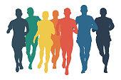 group runners men