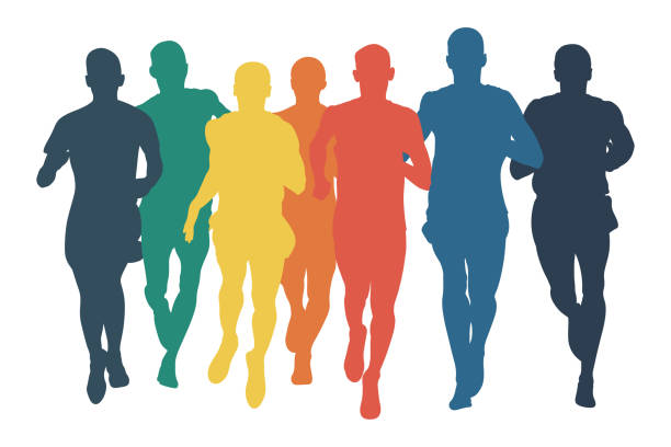Best Jogging Illustrations, Royalty-Free Vector Graphics ...