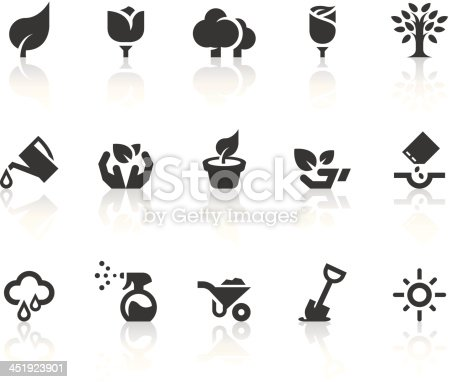 Growing features related vector icons for your design and application.