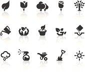 Growing Icons | Simple Black Series