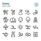 Growing Icons - Vector Line Series