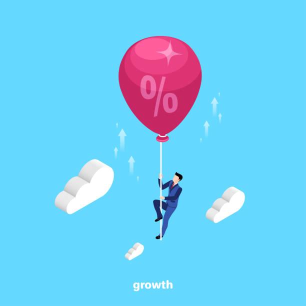 growth 7 vector art illustration